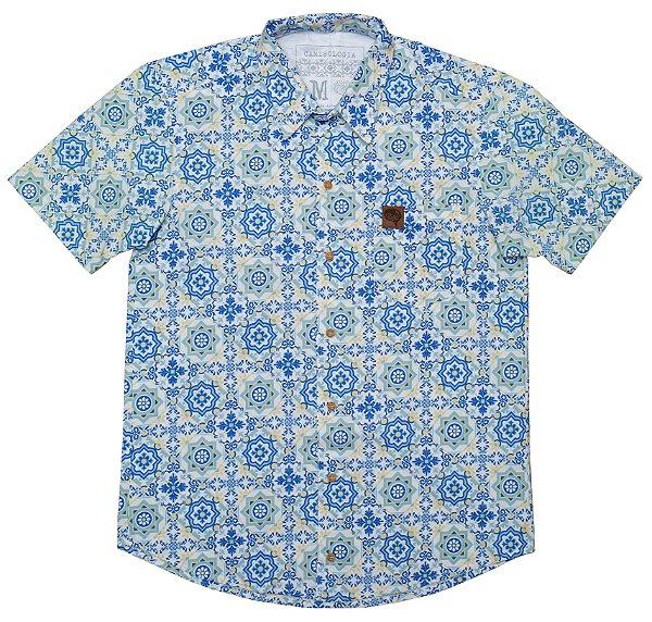 Camisa Azulejos