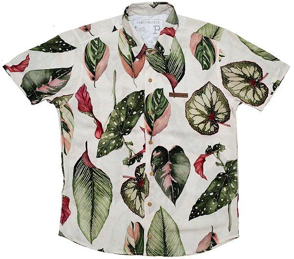 Camisa Folhas