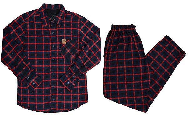 Conjunto Lumberjack Marinho