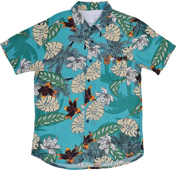 Camisa Floral D'água