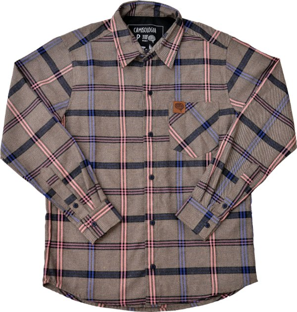 Camisa Lumberjack Vetiver Rose Blue