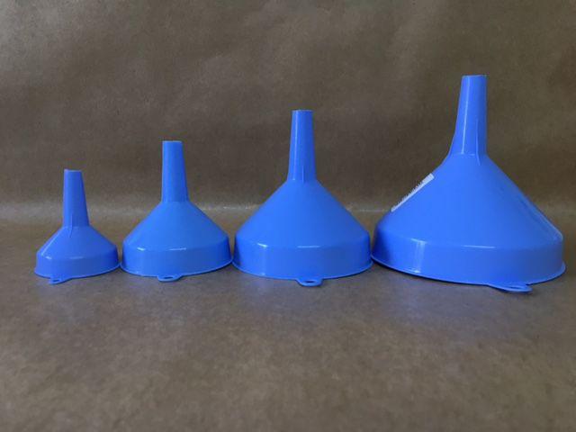 Funil Plastico kit c/4 peças (Polipropileno)