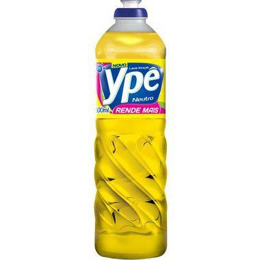 Detergente 500ml Ypê unid