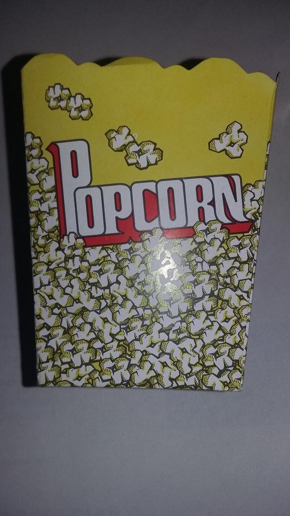 Caixa Pipoca Pequena (amarela) c/10 unids (consultar disponibilidade antes da compra)