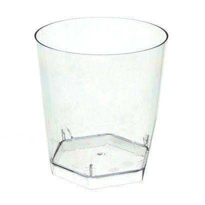Copo Acrilico 280ml Whisky (Pic280) Cristal 5 unids