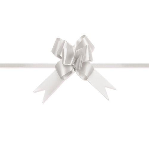 Laço Pronto Medio Branco c/10 unids (consultar disponibilidade antes da compra)