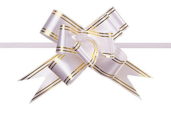 Laço Pronto PP Branco (Mini) c/10 unids (consultar disponibilidade antes da compra)