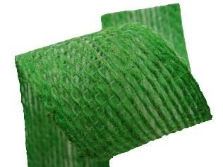 Fita Juta Verde (1020 cor 220) 20mmx10mts unid