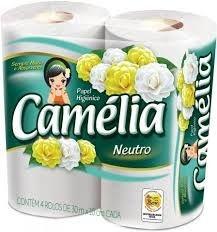 Papel Higiênico Camélia fl simples 30mts Fd c/64rls