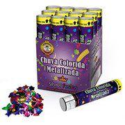 Lança Confete Chuva Papel Colorido