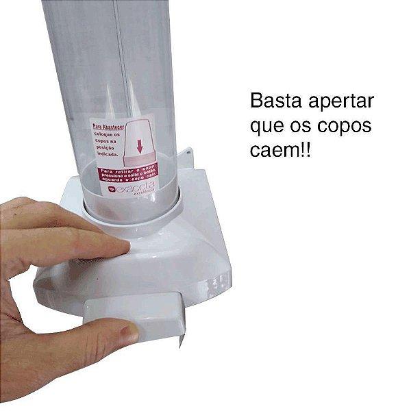 Dispenser Copo Água Exaccta c/botão unid