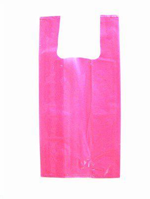 Sacola grossa 40x50 Rosa 1kg
