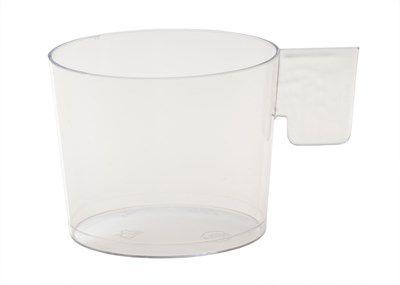 Xícara Descartavel Plastica 050ml PW2 Cristal 35pctsx10unids