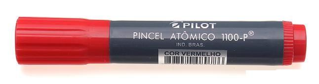 Pincel Atomico Pilot Vermelho unid
