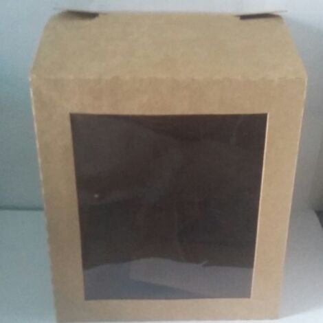 Caixa Panetone 500grs c/ visor unid