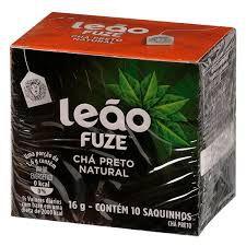 Chá Leão Preto Natural c/ 10 (sache)