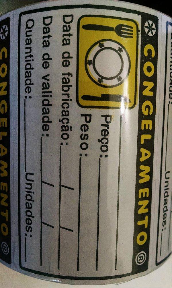 Etiqueta Congelamento 40mmx70mm 250 unids