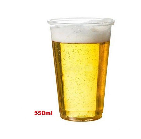 Copo PP 500ml Copaza (550) Cristal 1000 unids