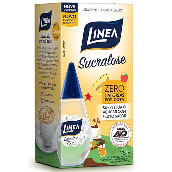 Adoçante Liquido Linea Sucralose 75ml unid