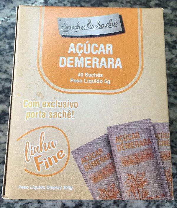 Açúcar Sachê Demerara Fine 40 saches