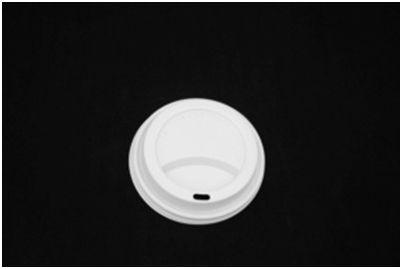 Tampa Plastica Copo Papel 120ml Cappucino BCA (62MMPSLID) 1000unids