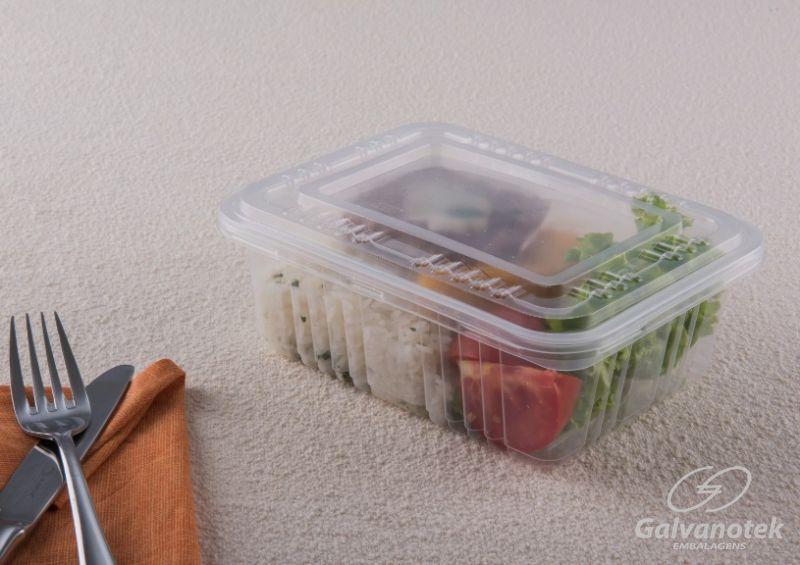 G305 Embalagem 1000ml Freezer/Microondas c/tmp 100 unids