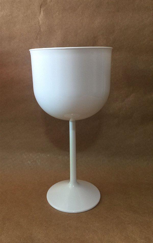 Taça Acrilica 500ml Gin Branca unid