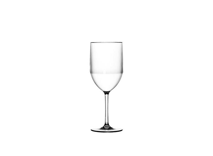 Taça Acrilica 350ml Vinho Tres Triangulos Reutilizavel unid