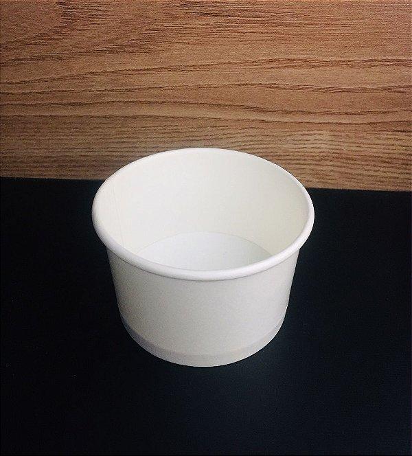 Pote Papel 100ml Branco 20x50 unids
