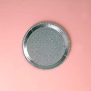 Prato papelão laminado nº 04 (25,5cm) unid