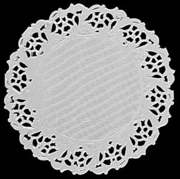 Toalha Rendada Papel Mago (Doilies) mod 91 (9 cm) 100 unids