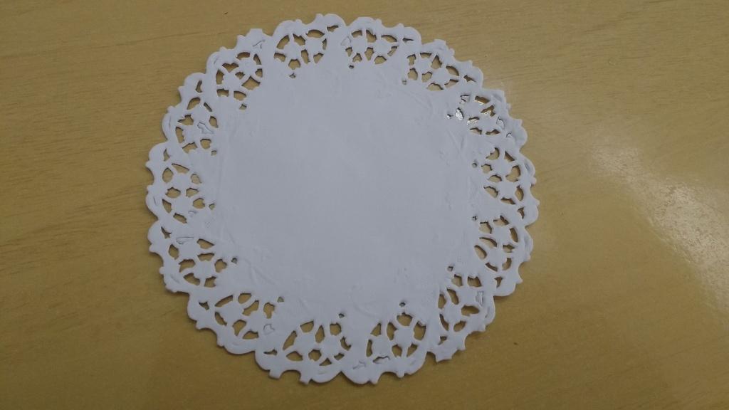 Toalha Rendada Papel Mago (Doilies) mod 110 (11 cm) 100 unids