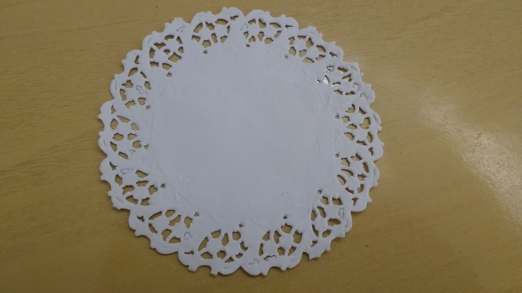 Toalha Rendada Papel Mago (Doilies) mod 110 (11 cm) 24 unids