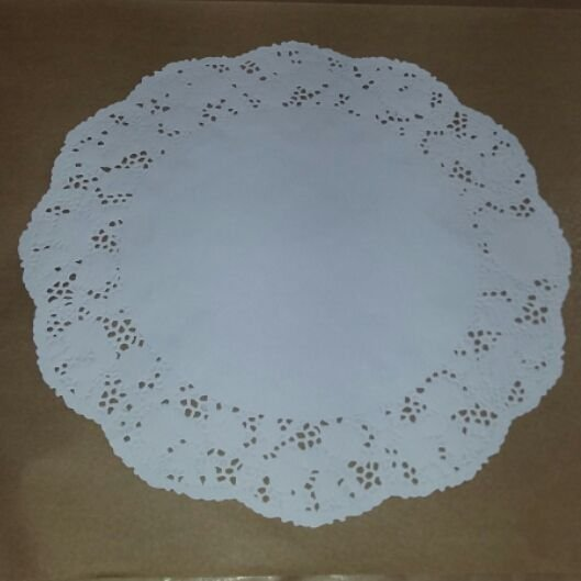 Toalha Rendada Papel Mago (Doilies) mod  350 (35 cm) c/100 unids