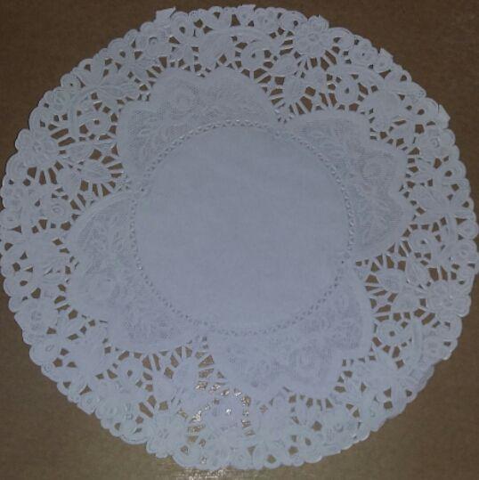 Toalha Rendada Papel Mago (Doilies) mod 220 (21 cm) c/100 unids
