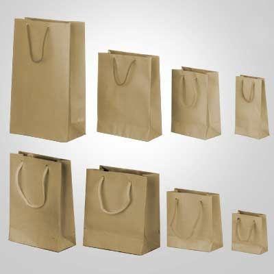 Sacola papel Kraft 16x12x5 (M) c/10 unids