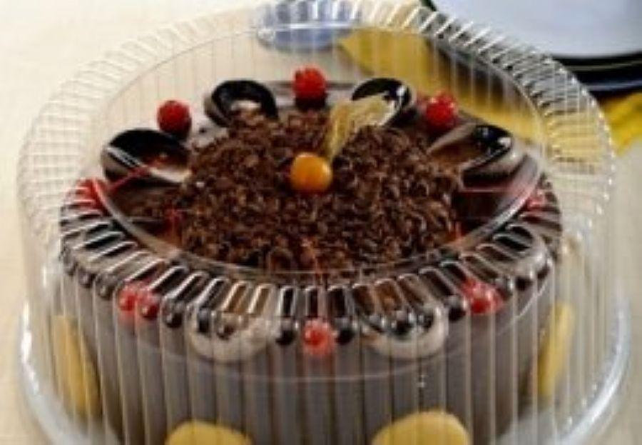 G60MA Embalagem Torta/bolo gde 3kg tampa alta unid