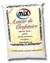 Açúcar Confeiteiro Mix 1kg (consultar disponibilidade na loja)