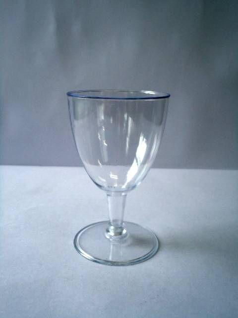 Taça Acrilica 180ml vinho 5 unids (promoção)