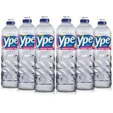 Detergente 24x500ml Ypê Clear