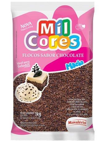 Flocos Macio sabor chocolate Mil cores 500grs