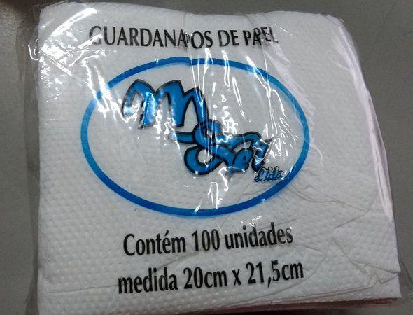 Guardanapo 20x21,5 M&TEL Fl Simples 100 unids