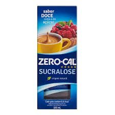 Adoçante Liquido Zero Cal Sucralose 100ml unid