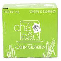 Chá Leão Erva Cidreira c/ 15 (envelopado)