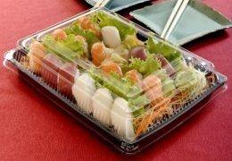 GO 918 Embalagem Sushi 100 unids