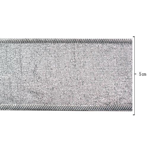 Fita Metalizada Prata 37mmx10mts unid (consultar disponibilidade na loja antes da compra)