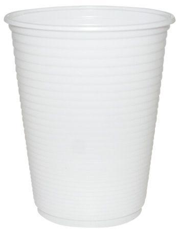 Copo descartavel 400ML Branco Copaza 50 unids