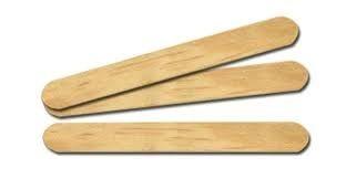 Palito Abaixador Lingua (madeira) c/ 100