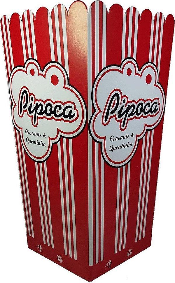 Caixa Pipoca Media (mega) c/10 unids (consultar disponibilidade antes da compra)