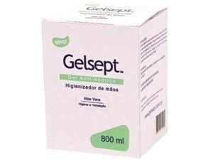 Álcool Gel 70% Gelsept (Refil) 800ml Trilha unid